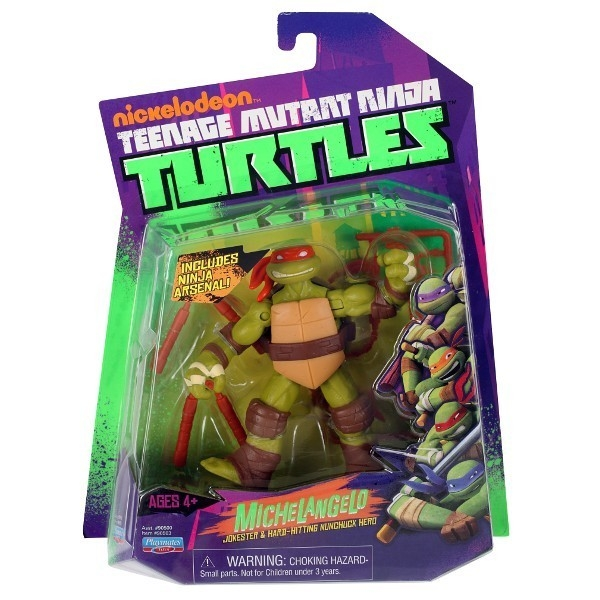 TURTLES Żółwie Ninja Fig . Michelangelo12 cm