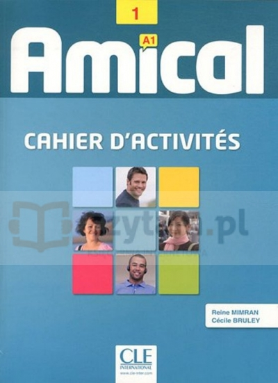 Amical 1 ćwiczenia +CD Reine Mimran, Cécile Bruley