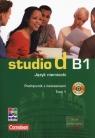 Studio d B1. Język niemiecki. Podręcznik z ćwiczeniami. Tom 1 + CD