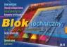 Blok techniczny kolor  A4 10k. .