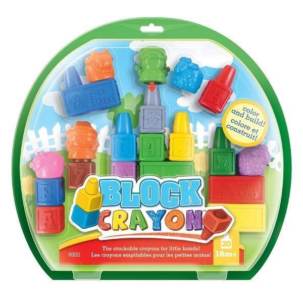 WOOKY Block Crayon Zest. farma 20 kredekświecowyc