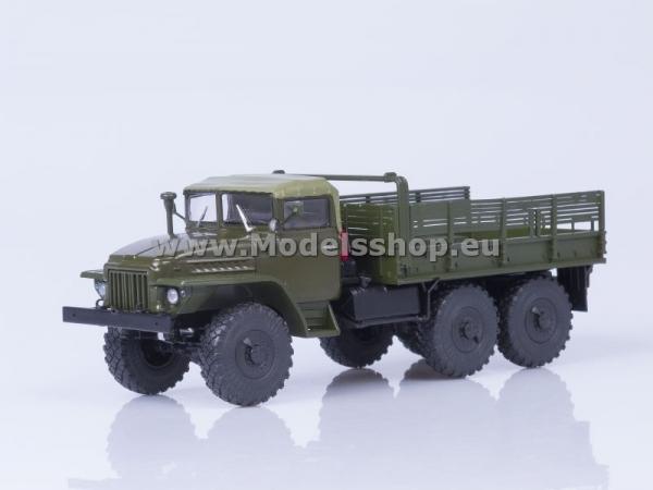 Ural-375 Flatbed Truck Soft Roof (khaki) (AI1123)