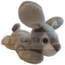 ROXI Królik 14 cm, szary (944036)