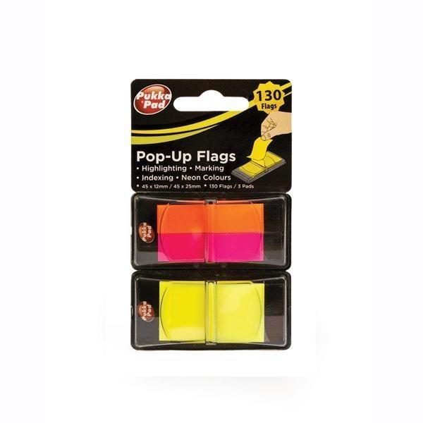 Flagi Pukka Pad 45x12/45x25 130 sztuk 3 kolory