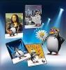 Zeszyt A5/32K/BR linia 10 szt. Penguin