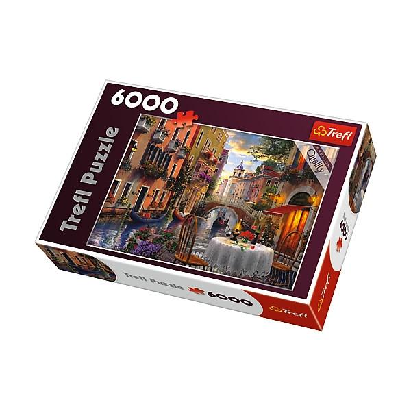 Puzzle 6000 el.Romantyczna kolacja (65003)