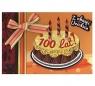 Karnet Urodziny Z okazji Urodzin 100 lat tort DK-235