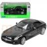 WELLY MercedesBenz SLS AMG, czarny (WE24025)