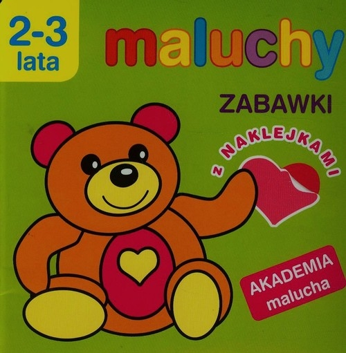 Maluchy Zabawki z naklejkami 2-3 lata Wiśniewska Anna