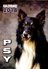 Kalendarz ścienny Psy 2018