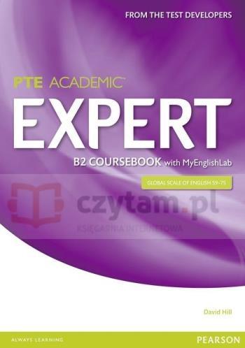 PTE Academic Expert B2 CB with MyEngLab David Hill