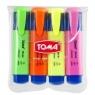 Zakreślacz TOMA Mistral 4 kolory (TO-334)