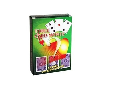 Three card monte - 3 karty