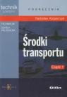 Środki transportu Część 1 Podręcznik