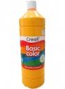 Farba tempera Creall Basic Color 1000ml - ciemnożółty nr 03