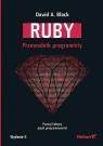 Ruby Przewodnik programisty Black David A.