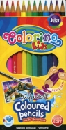 Kredki akwarelowe + pędzelek Colorino Kids 12 sztuk (33039PTR)