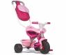 Rowerek trójkołowy Be move komfort różowy (7600740403)