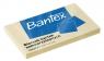 Kartki samoprzylepne 100x75 100k.żółte 400086387 Bantex