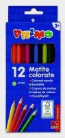Kredki drewniane sześciokątne Primo 12 kolorów
