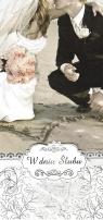 Karnet Ślub W Dniu Ślubu Armin Style DL-1