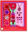 Zestaw do tworzenia biżuterii Perły i serduszka (DJ09803)