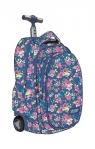Plecak na kółkach kauczukowych St.reet Flowers 2 TB-01
