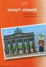 Zeszyt A5 Język niemiecki Zeszyt-słownik w kratkę 96 kartek