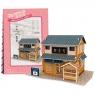 Puzzle 3D: Domki świata - Japonia, Sushi House (306-23104)