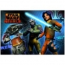 Podkład szkolny na biurko obustronny Star Wars Rebels
