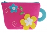 Filcowe robótki Portfelik różowy w kwiaty (FCW1502)