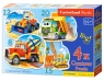 Puzzle 4w1 Contour Construction Vehicles