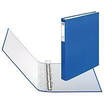 Segregator A4 4cm 4za niebieski max file