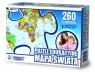 Puzzle edukacyjne Mapa świata 260 elementów