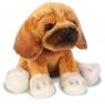 Siedzący pies Puggle 13cm SUKI