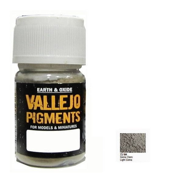 VALLEJO Pigment Light Siena (73104)