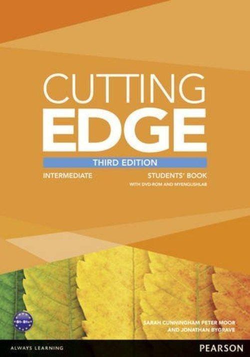 Cutting Edge 3ed Intermediate Student's Book with MyEnglishLab+DVD Peter Moor, Sarah Cunningham, Jonathan Bygrave