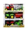 Trzy traktory