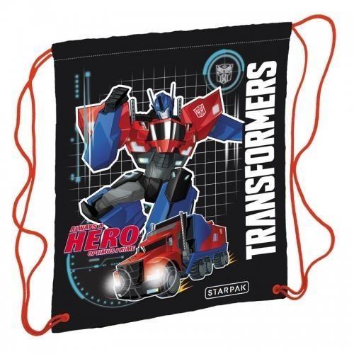 Worek szkolny na ramię Transformers Hero