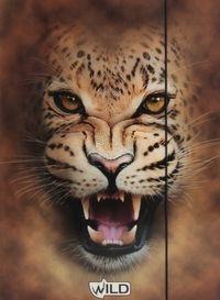 Teczka z gumką A4 Wild tygrys