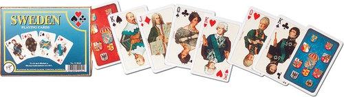Karty do gry Piatnik 2 talie Szwecja