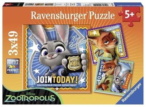 Puzzle Zootopia 3x49