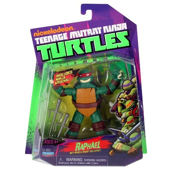 TURTLES Żółwie Ninja Fig. Raphael 12 cm