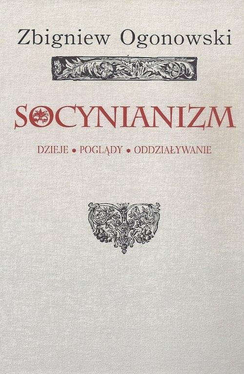 Socynianizm Ogonowski Zbigniew