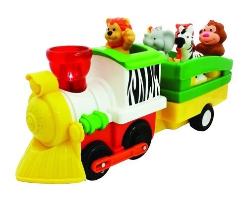 Pociąg Safari Naciśnij i jedź