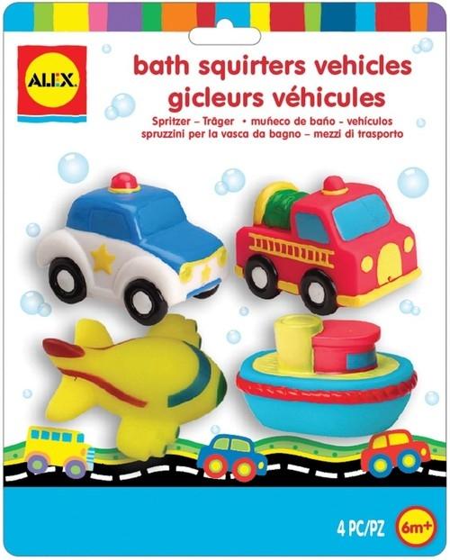 Bath Squirters Vehicles Zabawki do kąpieli Pojazdy (700TN)