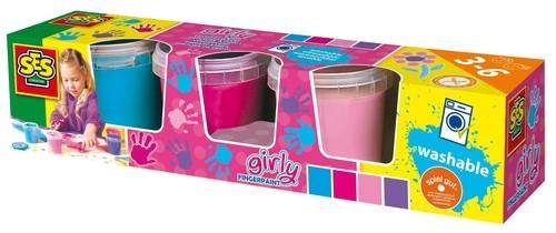 Farby do malowania palcami 4 modne kolory