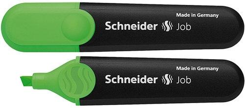Zakreślacz Schneider Job, 1-5 mm, zielony