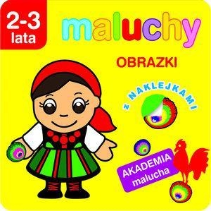 Maluchy Obrazki z naklejkami 2-3 lata Wiśniewska Anna