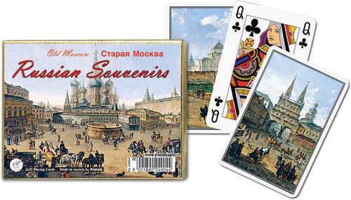 Karty do gry Piatnik 2 talie Stara Moskwa